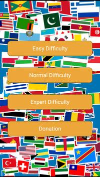 World Country Flags Quiz poster