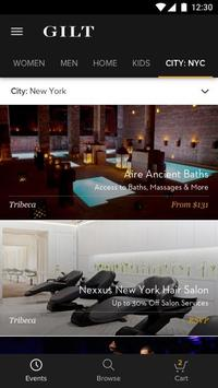 Gilt - Shop Designer Sales apk screenshot