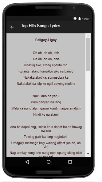Nadine Lustre Music Lyrics for Android - APK Download