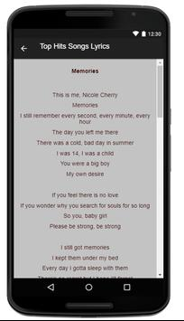 Nicole Cherry Music Lyrics screenshot 3