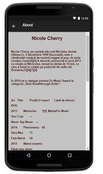 Nicole Cherry Music Lyrics screenshot 1