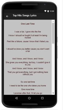 Ariana Grande Music Lyrics screenshot 3