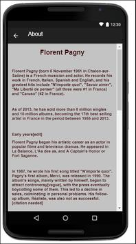 Florent Pagny Music Lyrics screenshot 1