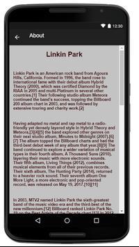 Linkin Park Music Lyrics screenshot 1