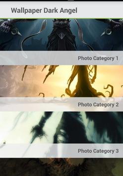 Dark angel wallpaper screenshot 1