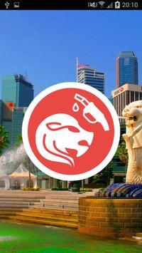 Singapore Petrol Price poster