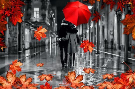 Autumn Love live wallpaper screenshot 5
