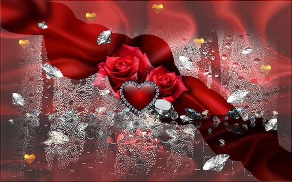 Diamonds Valentines Day live wallpaper screenshot 12