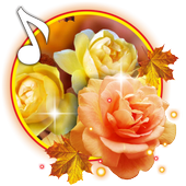 Roses Autumn live wallpaper icon