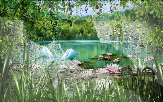 Swans and Lilies LWP screenshot 4