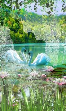 Swans and Lilies LWP screenshot 2