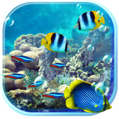 Underwater Fishes Live Wallpaper icon