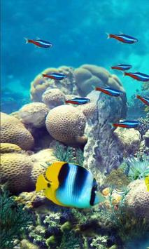 Underwater Fishes LWP poster