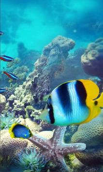 Underwater Fishes Live Wallpaper screenshot 1