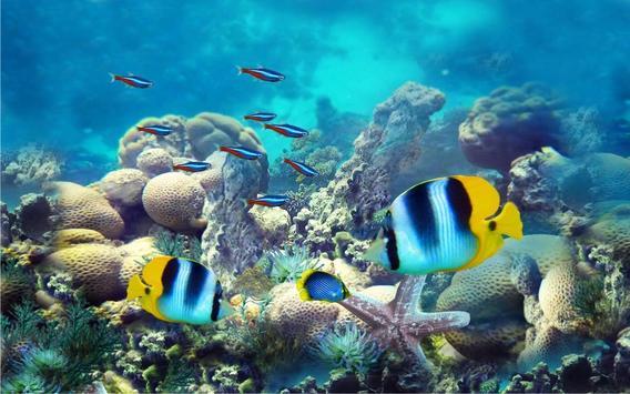 Underwater Fishes Live Wallpaper screenshot 4