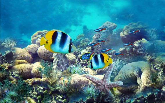 Underwater Fishes LWP apk screenshot