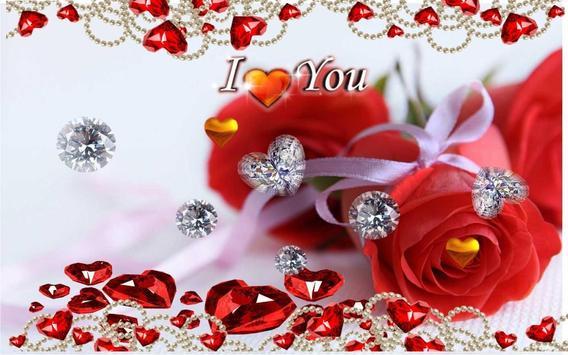 valentine wishes live wallpaper apk screenshot