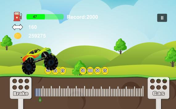 Mr Driver Pean Monster Truck apk screenshot