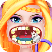 Princess pet hospital - tooth dentist Surgery Game icon