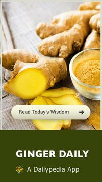 Ginger - Magic Herb Daily poster