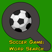 Soccer games: Wordsearch icon