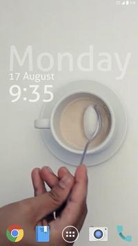Enjoy Coffee Live Wallpaper apk screenshot