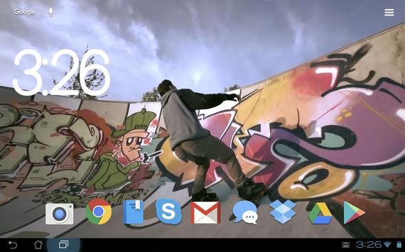 Rolling in Slow Mo LW apk screenshot