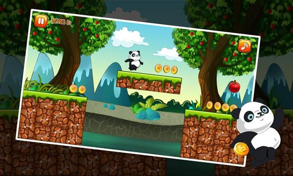 Amazing Panda Run screenshot 4