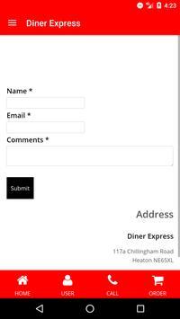 Diner Express apk screenshot