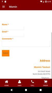 Momin's Tandoori screenshot 6