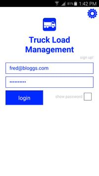 Truck Load Management poster