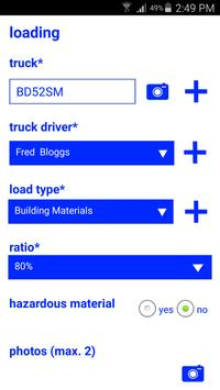Truck Load Management screenshot 1
