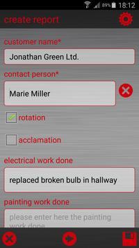 Caretaker Report screenshot 3