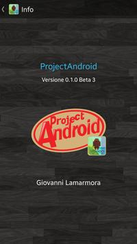 ProjectAndroid screenshot 1