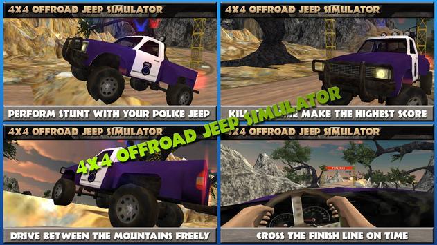 4x4 Offroad Jeep Simulator apk screenshot