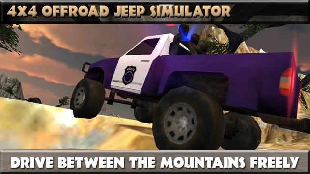 4x4 Offroad Jeep Simulator poster