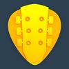 吉他调音器 免费 - 调音器 用于您的原 声吉他 和 电吉他 小提琴音 或 尤克里里 大提琴 图标