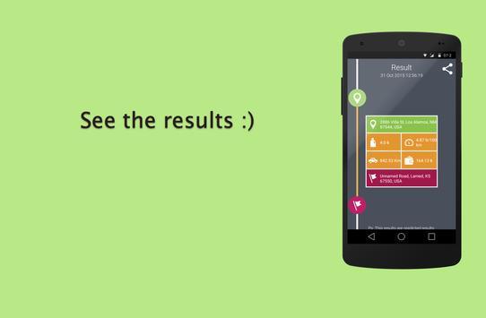 Fuel Calculator apk screenshot