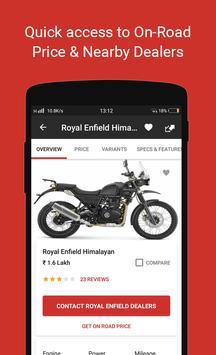 Bike, Scooter India: BikeDekho apk screenshot