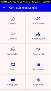 ICFAI Business School Gurgaon poster