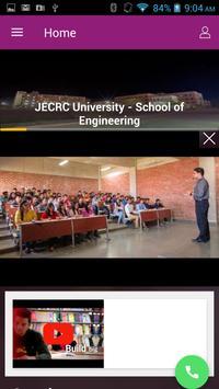 JECRC University poster