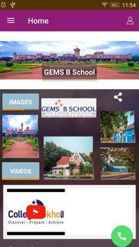 GEMS B School poster