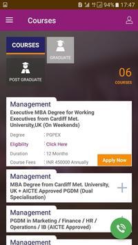 Universal Business School poster