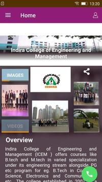 Indira College - Engg. & Mgmnt poster