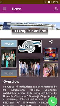 CT Group of Institution poster