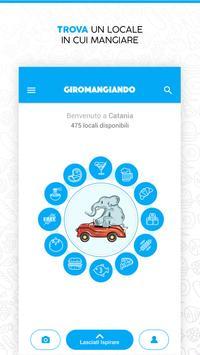 Giromangiando poster