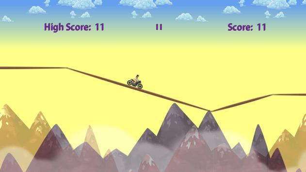 Girl on Motorbike screenshot 1