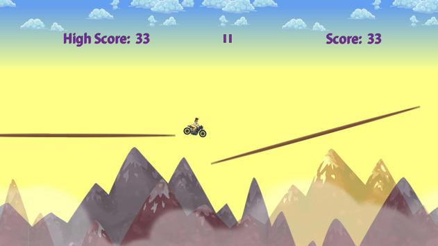 Girl on Motorbike screenshot 3