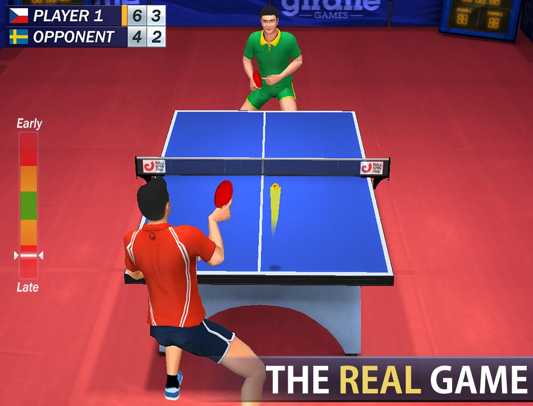 Best Table Tennis Games For Android Users