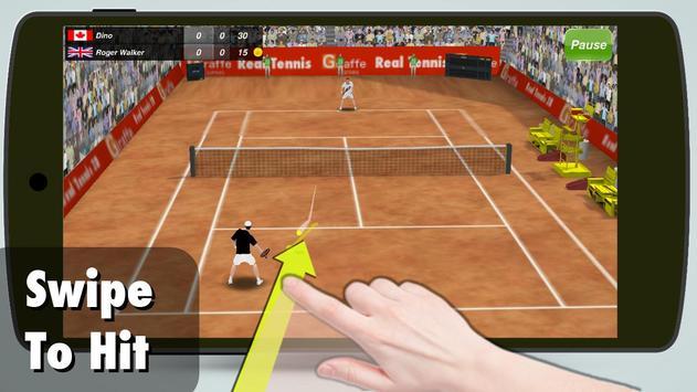 网球 3D 2014 海報